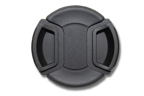 vhbw Tapa de Objetivo 58mm Negra para cámaras Sigma 70-300 mm 4-5.6 DG Makro, Tamron 28-80 mm 3.5-5.6 AF ASL.