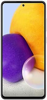 موبايل سامسونج جالاكسي A72 بشريحتين اتصال - شاشة 6.7 بوصة، رام 8 جيجابايت، 256 جيجابايت - ابيض