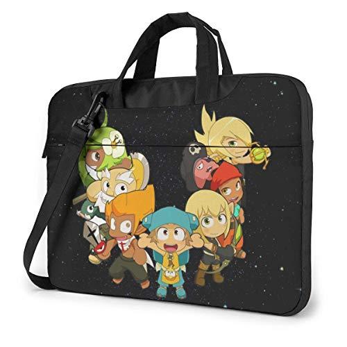 Hdadwy 14 inch Wakfu Laptop Bag Shoulder Messenger BagLaptop Bag Satchel Tablet Bussiness Carrying Handbag for Women Men