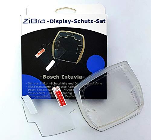 ZiBra Displayschutz-Set bestehend aus Schutzfolie und Schutzhülle passend für Bosch Intuvia Display