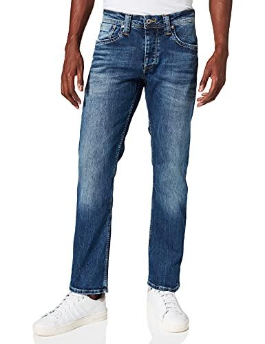 Pepe Jeans Herren CASH Jeans, Blau (11Oz Streaky Stretch Med Z23), 34W/30L