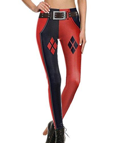 41nIAFkQ02L Harley Quinn Yoga Pants