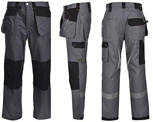 Dunlop Workwear Herren Arbeitshose (634082), Charcoal, 3XL