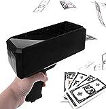 Money Gun Make It Rain,Money Shooter Gun with 100 Pcs Prop Money,Cash Gun for Party Game Wedding Party Supplies