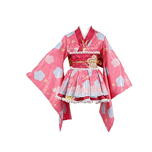 JLCYYSS Anime Fecha EN Vivo Kotori Itsuka y Yatogami Tohka/Princesa Cosplay Disfraz Halloween Carnaval Tradición Japonesa Kimono Vestido Bata para Mujer Regalo