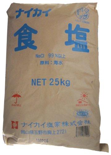 業務用 ナイカイ食塩 25kg