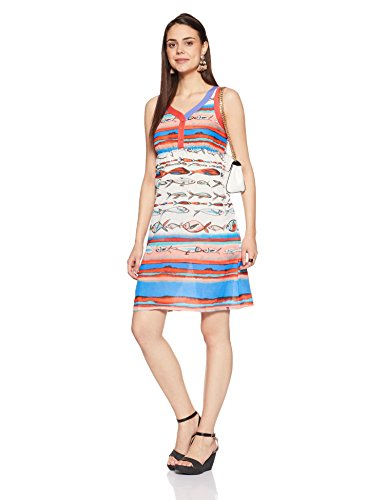 BIBA Women's A-Line Kurta Dress