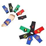 DREAMWIN 40 Stück Superhelden-Armbänder, Superhelden-Geburtstagsfeier, Superhelden-Partyzubehör, Kinder-Partyzubehör, Geburtstagsgeschenk für Jungen und Mädchen Gefälligkeiten