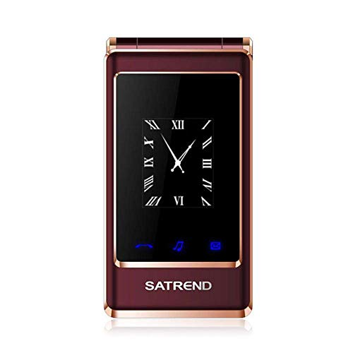 Peedeu 3.0 inch GSM Unlocked Flip Phone with Camera,Dual Screen with Big Button, 2G Dual SIM Dual...