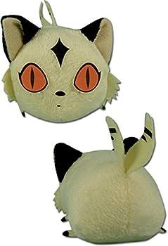 GE Animation Great Eastern Inuyasha Mini-sized Kirara Cat Lying Down Stuffed Plush 3