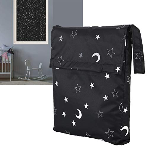 LIFEI Upgraded Portable Blackout Shades, Travel Blackout Curtains, Temporary Blackout Blinds, Clever Window Blackout Solution for Baby, Travelers, Night-Shift Workers, Renters,
