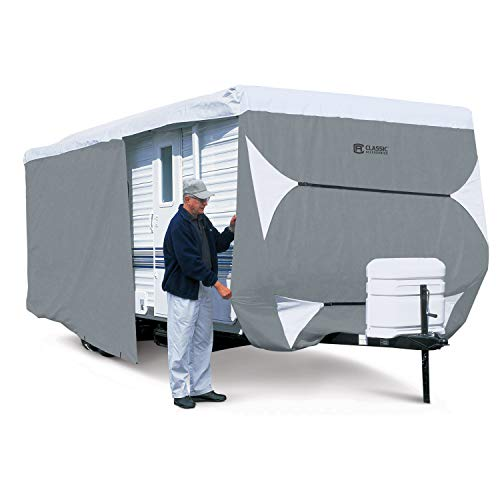 Classic Accessories OverDrive PolyPro 3 Deluxe Travel Trailer Cover, Fits 15' - 18'