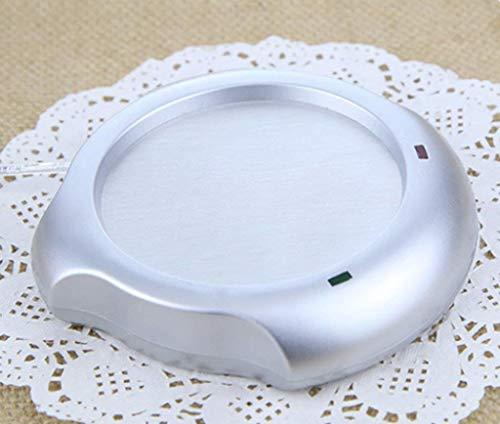 Hyzb Kaffeetasse-Wärmer, USB-Desktop-Tassenwärmer, elektrische Getränkewärmer Aluminiumplattemit for Office/Home Use