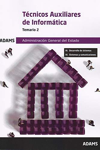 Temario 2 Técnicos Auxiliares de Informática de la Administración General del Estado