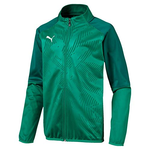 PUMA Kinder Cup Training Poly Jacket Core Trainingsjacke, Pepper Green-Alpine Green, 164