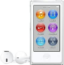 Apple iPod Nano 16GB Silver (8th Generation) MKN22LL/A (Renewed)