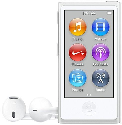Apple iPod Nano 16GB Blue (8th Generation) MKN02LL/A (Renewed)