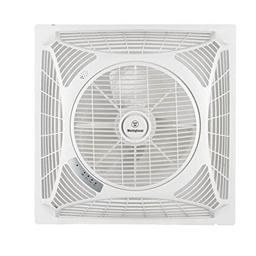 ventilatore da soffitto x negozio Westinghouse Ventilatore da soffitto Windsquare (L x B x H) 60 x 60 x 21 cm Flügelfarbe: bianco casefar