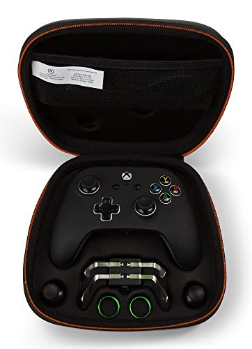 PowerA FUSION Pro Wired Controller for Xbox One, One S and One X, Officially Licensed u2013 Black with Metallic Accents Xbox One Accessories Xbox One Consoles, Games & Accessories