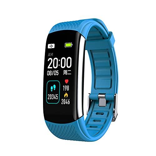 EMPERSTAR Fitness Watch Fitness Tracker Pulsera Reloj Deportivo ECG + PPG Oxígeno Sangre Tasa del Corazón Monitoreo del Sueño Recordatorio De Mensajes,A