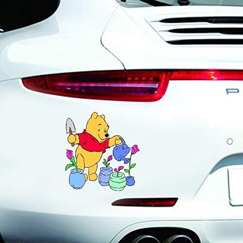 Cartoon Winnie The Pooh Autoaufkleber Winnie The Pooh Aufkleber Wandaufkleber Wandaufkleber für Laptop/Auto/LKW/Fenster/Stoßstange