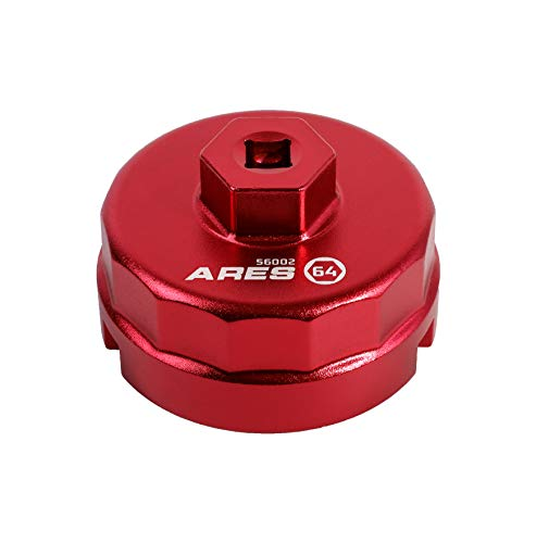 ARES 56002 - 64mm Oil Filter Cap Wrench for Toyota and Lexus - 3/8-Inch Drive - Easily Remove Oil Filters...