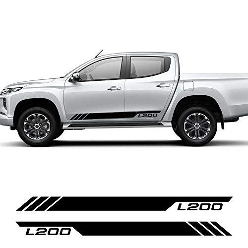 HLLebw Auto Adesivi Decorativi per Gonna Adesivi, for Mitsubishi L200