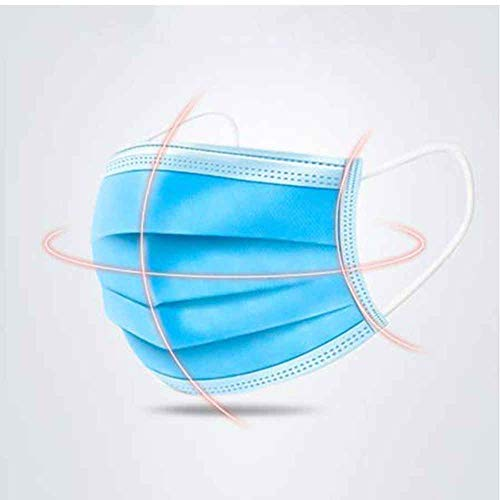 3 Schichten sicher atmungsaktiv Einweg Gesicht Mundstaubdicht für Kinder Adult Filter -80pcs