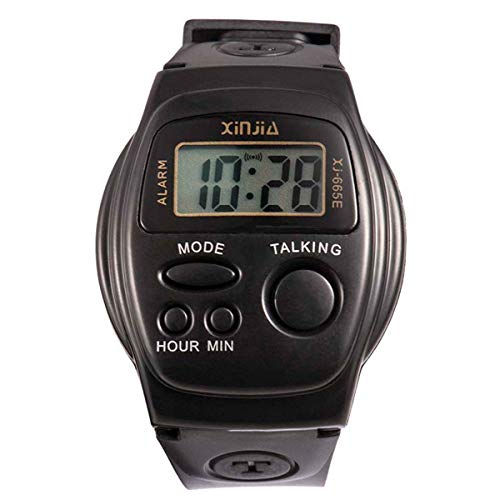 XINJIA Electronic Elderly Watches With English Voice