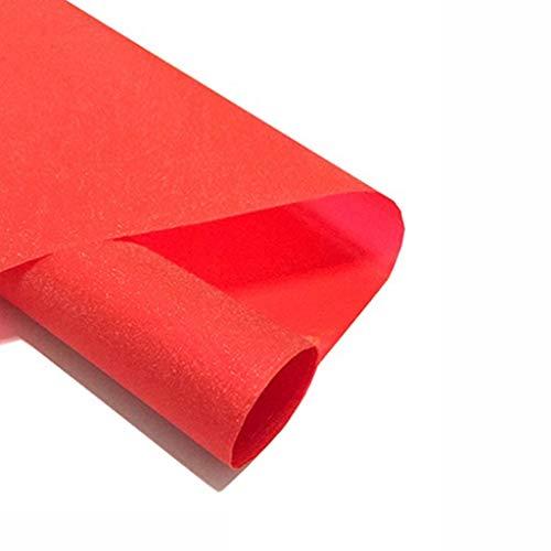 MY JT- Écran Solaire Isolation Film Ménager Verre Film Bureau Balcon Ombrage Fenêtre Artefact Fenêtre Autocollant Fenêtre Facile à Installer (Color : Red, Size : 60 * 100cm)