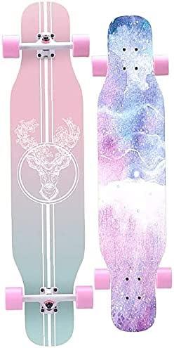 Longboard Skateboard Complete 43 Inches 7 Skate Free Shipping Cheap Bargain Gift Laye Finally resale start Boards Long