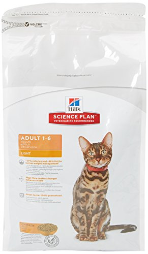 Hill's Feline Adult Light Chicken Comida para Gatos - 1500 gr