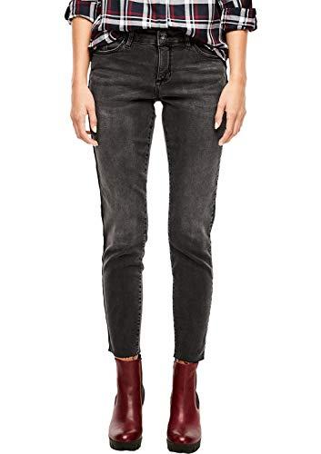 s.Oliver Damen Skinny Jeans, Grau (Grey/Black Denim Stretch 97Z5), 40W