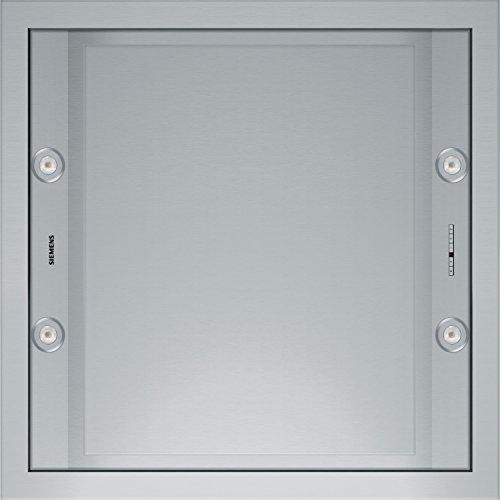 Siemens LF959RA51 - Campana (Canalizado/Recirculación, 820 m³/h, 600 m³/h, Empotrable en techo, LED, Acero inoxidable)