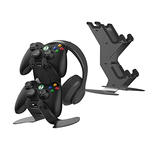 how to refund a game on ps4 and ps5 xbox controller stand for Xbox / NINTENDO / PS4 / PS5 / Headset - Aluminum Metal Stand Organizer for Video Game Accessories