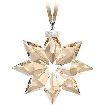 Swarovski SCS Christmas ornament 2013 gold 5004491