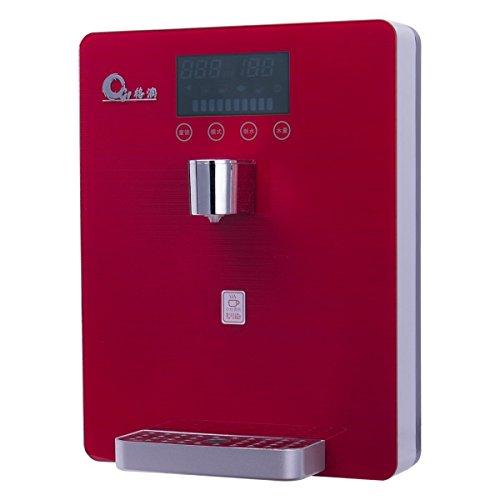 Filtro de agua JIAYIDE® Sistema de filtración de agua por agua viva, ionizador alcalino de pH alto Dispensador de purificador de agua, filtración super rápida GR-gxj-1001(Red)