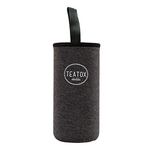 Teatox Sleeve | Praktische Hülle für Deine Thermo Go Bottle | Perfekte Passform| Erleichtert die Handhabung unterwegs (Sleeve Dunkelgrau)