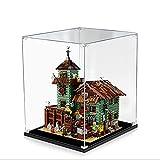Hosdiy Acryl Vitrine Schaukasten Kompatible mit Lego 21310 Alter Angelladen - Vitrine (Nur Vitrine, Ohne Lego Set)