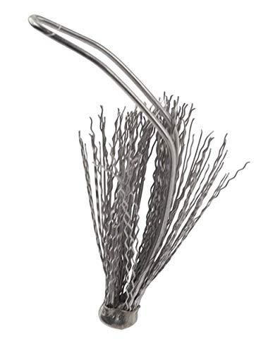 Tüllensieb mit Tropfenfänger | ca. 5,5 x 2,5 cm | Tropfschutz für Teekannen