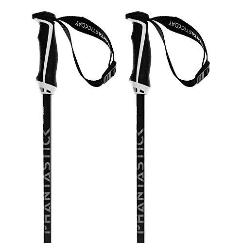 Völkl Lot de 2 bâtons de Ski PHANTASTICK 16 mm, Noir, 120