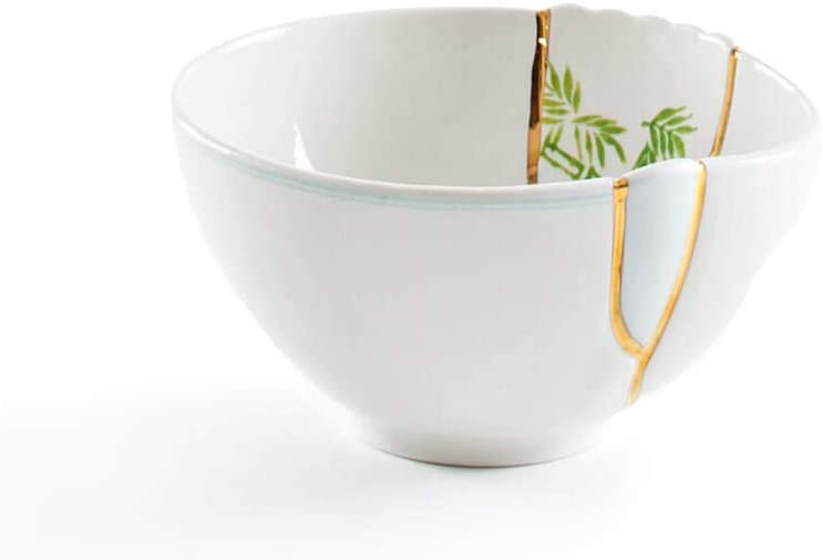 Seletti Kintsugi Bowl in Porcelain and Discount is also underway 3 Gold Super beauty product restock quality top Carat 24 mod.