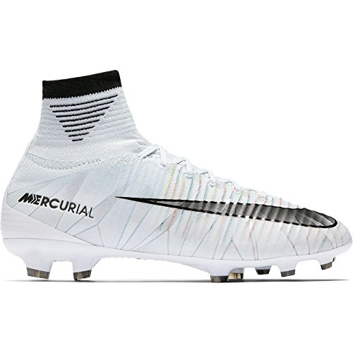 Junior Mercurial Superfly V CR7 Dynamic Fit (FG) Kids' Firm-Ground Football Boot BLUE TINT/BLACK-WHITE-VOLT 17/18 Nike 36 BLUE TINT/BLACK-WHITE-VOLT
