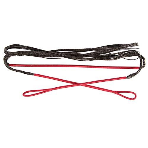 WEREWOLVES Reemplazo de la Cadena de Arco Dacron para la Cuerda de Arco Tradicional y recurvo 16 filamentos 58