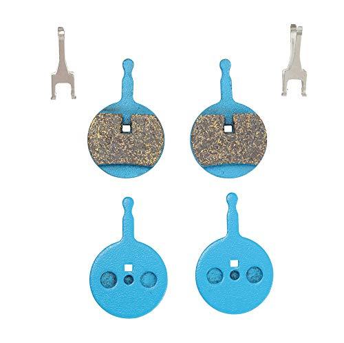 Icreopro 2 Pares de Almohadillas para Frenos de Disco para Sram Avid BB5,Tacto cómodo,para Todo Terreno.(Resina,Semi-Metal,Multi-Metal,Metal sinterizado)