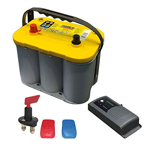 Truma Mover Batterie Set Optima® YTS 55 Ah + Truma BC 10 + Trennschalter