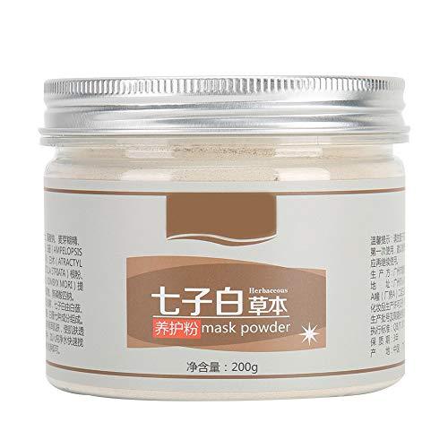 Deep Moisturizing Mask Powder, Large Volume 200g Full Functional Moisturizing Whitening Mask Complexion Brightening Powder for Home or Beauty Salon Use