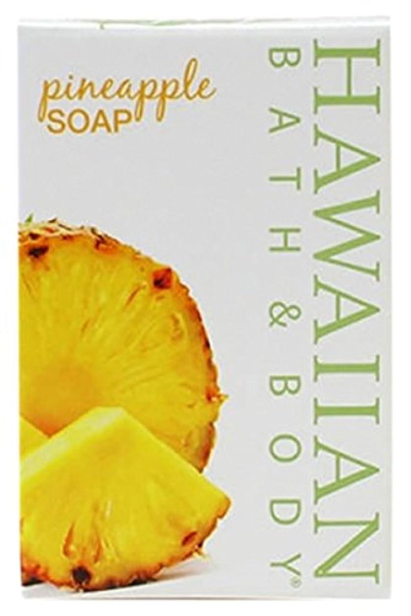 エンドテーブル考古学者何かHAWAIIAN BATH & BODY SOAP パイナップル