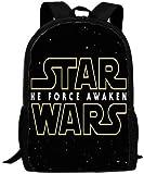Star Wars - Mochila escolar infantil con dibujos animados en 3D, gran capacidad, 5, 16',