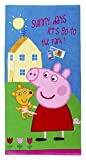 Peppa Pig Handtuch Badetuch Peppa Wutz 'Sunny days let's go to the Park' Spruch, 70 x 140...